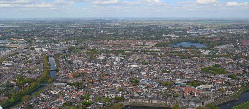 Luchtfoto Den Bosch