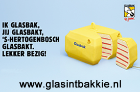 Glasbak Viert 40ste Verjaardag Gemeente S Hertogenbosch